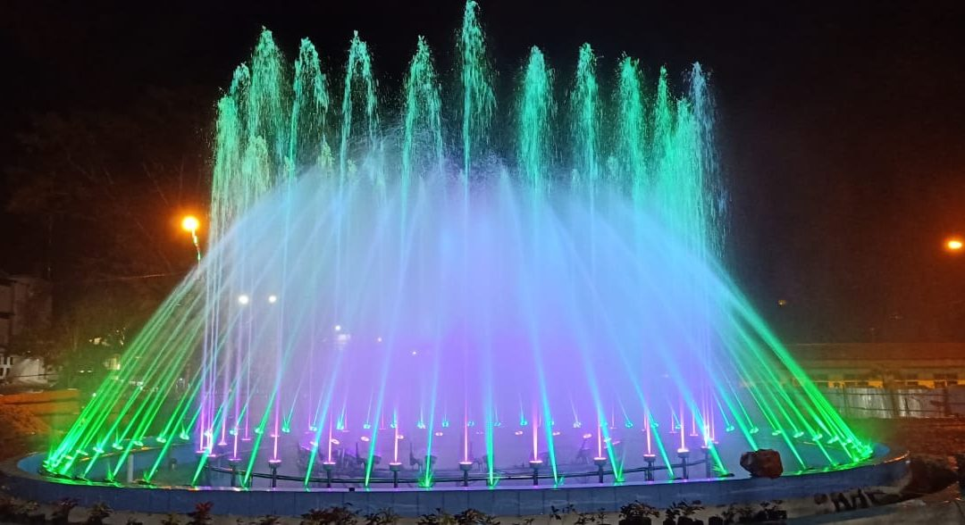 DANCING FOUNTAIN RTH LOGAS – SIJUNJUNG #2019